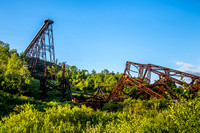 Kinzua Bridge Wreckage, Allegheny National Forest