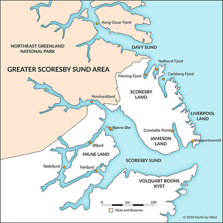 Greater Scoresby Sound Area