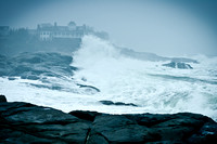 Storm at Cape Neddick, Maine