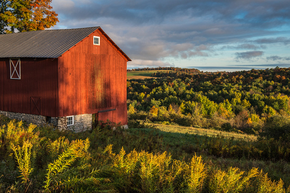 Neighbor's Barn, 10/10/2015