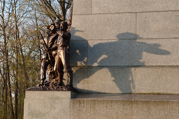 Virginia Memorial at Sunrise, Gettysburg