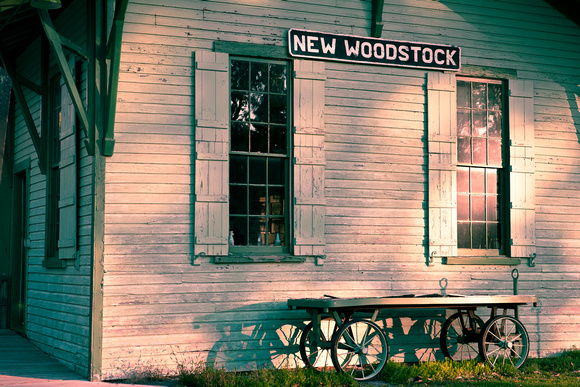 New Woodstock Railroad Depot